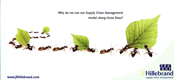 B2B ad for supply chain