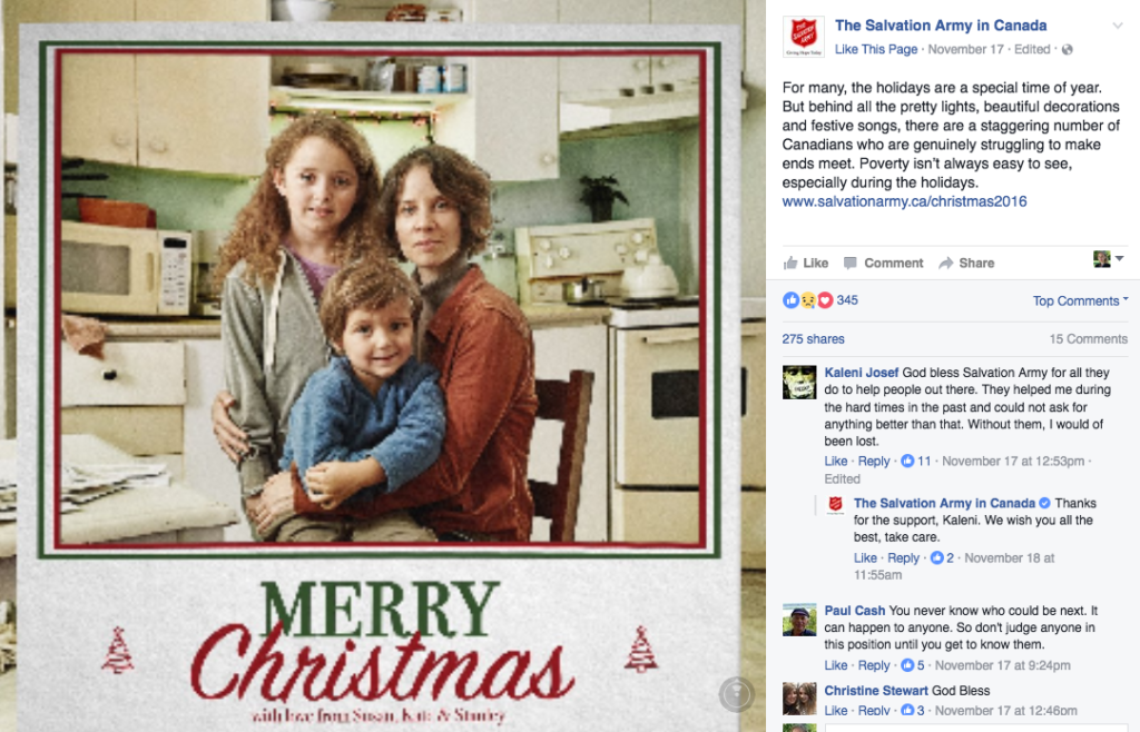 Salvation Army FB